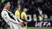Champions League: UEFA leitet Verfahren gegen Ronaldo von Juventus Turin ein, Cristiano Ronaldo droht nach seinem Jubel gegen Atletico Madrid Ärger von der UEFA