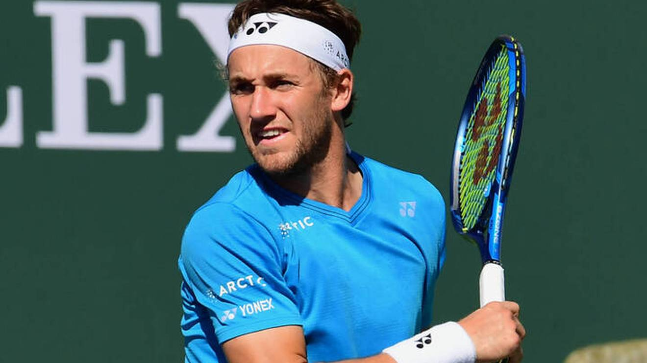 Der Norweger Casper Ruud ließ beim Turnier in Indian Wells einen störenden Zuschauer rausschmeißen