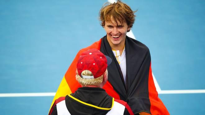 Alexander Zverev tritt beim Davis Cup für Deutschland an