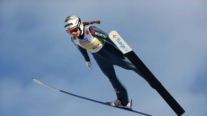 Juliane Seyfarth durfte sich über den zweiten Weltcup-Sieg ihrer Karriere freuen