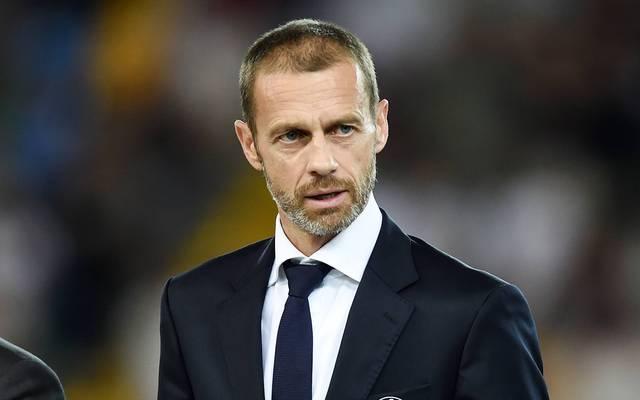 Aleksander Ceferin wurde 2016 zum Präsidenten der UEFA gewählt