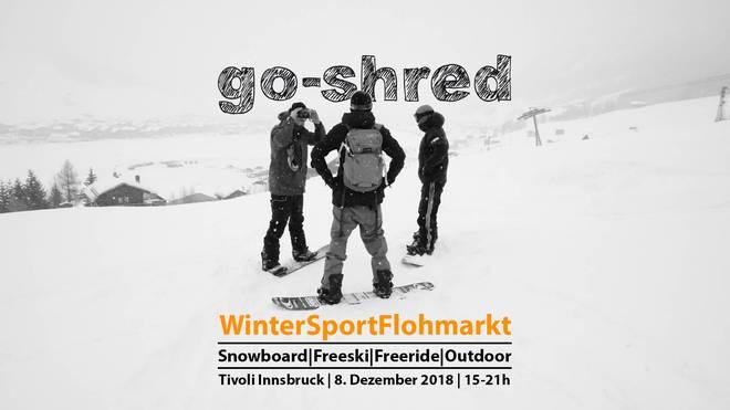 Go-Shred Wintersport Flohmarkt 2018 in Innsbruck