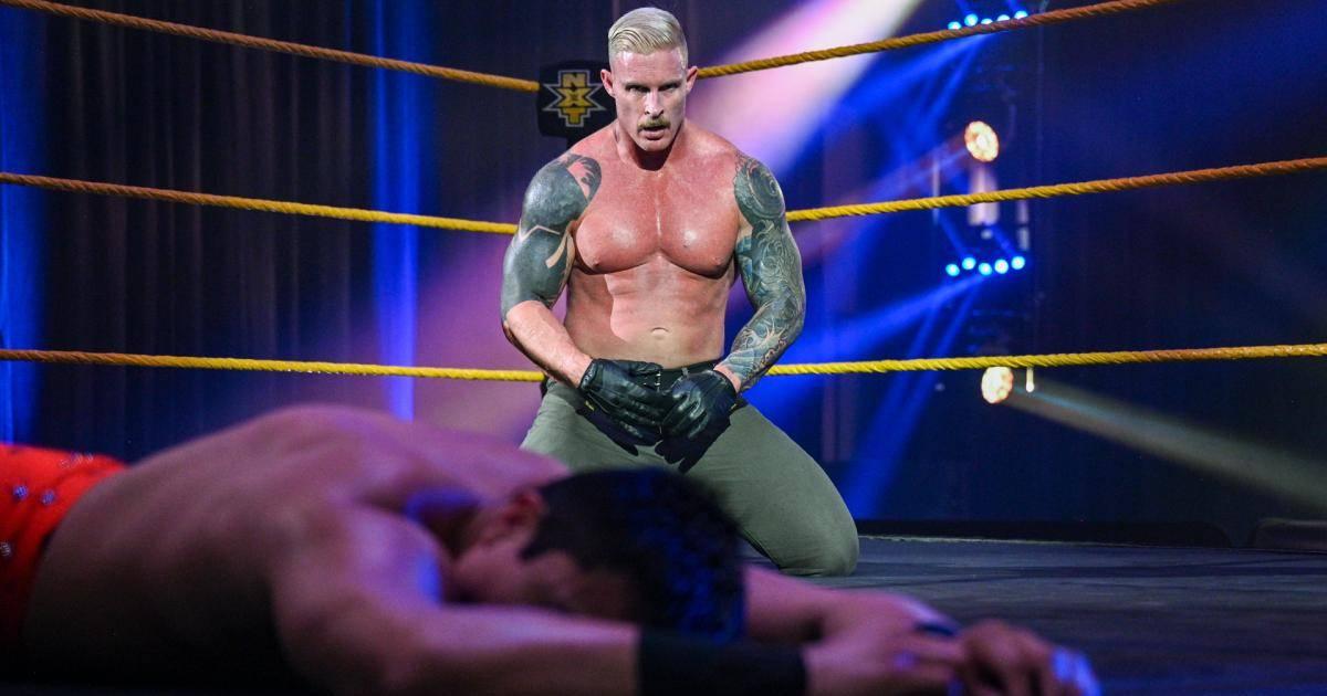 WWE NXT: Newcomer Dexter Lumis mit Psycho-Auftritt