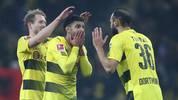 André Schürrle und Ömer Toprak von Borussia Dortmund