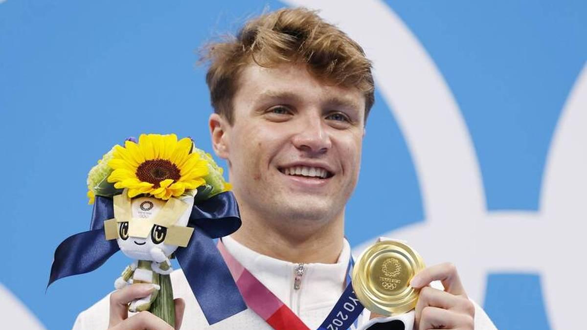 Robert Finke schnappte Florian Wellbrock und dem Rest der Konkurrenz Gold weg