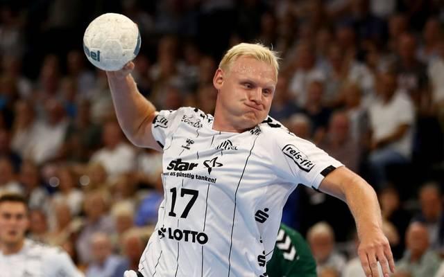 Patrick Wiencek spielt als Kreisläufer und Abwehrhüne für den THW Kiel