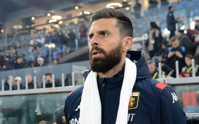 Thiago Motta ist seinen Job in Genua schon wieder los