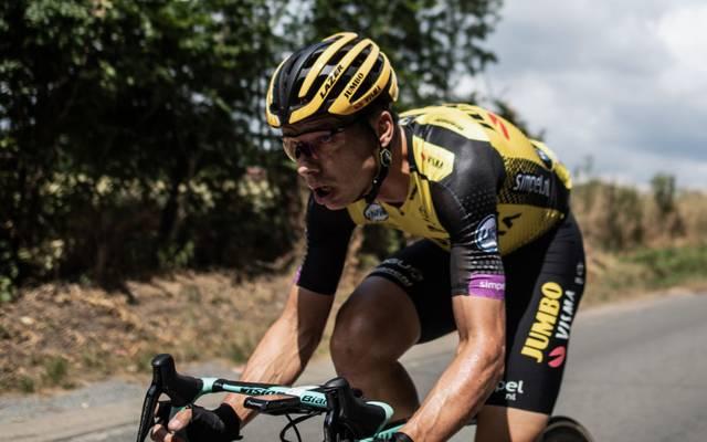 Tony Martin muss nach einem schweren Sturz bei der Vuelta vorzeitig aufgeben