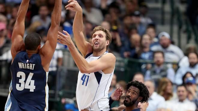 Dirk Nowitzki muss mit den Dallas Mavericks eine Niederlage nach der anderen einstecken