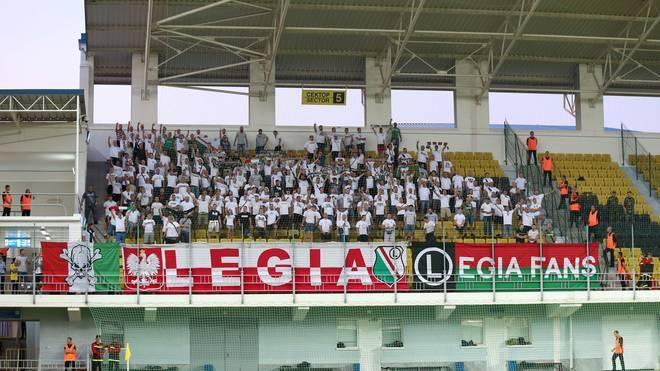 Fans von Legia Warschau