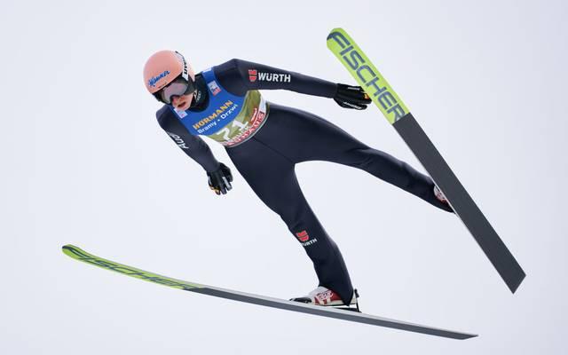 Karl Geiger greift nach der Tournee wieder im Weltcup an