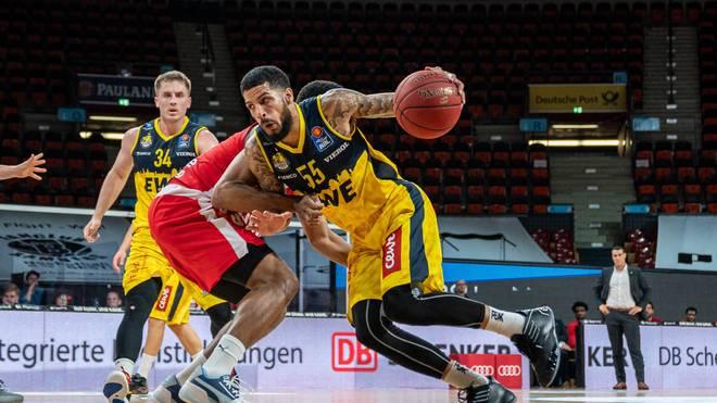 Tyler Larson spielte zuletz für die EWE Baskets Oldenburg