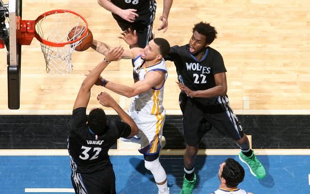 Stephen Curry erzielte 26 Punkte