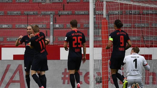RB Leipzig trifft im Viertelfinale der Champions League auf Atlético Madrid
