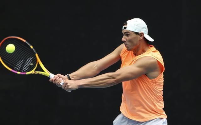 Rafael Nadal plagen zur Zeit Rückenprobleme
