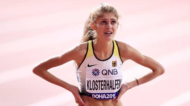 Konstanze Klosterhalfen gewann 2019 WM-Bronze über 5000 Meter