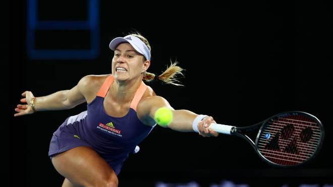 Angelique Kerber muss derzeit mit Tennis-Matches aussetzen