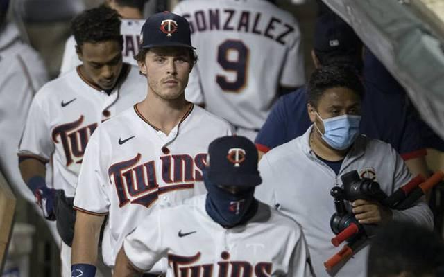 Max Kepler musste mit den Minnesota Twins eine Pleitenserie einstecken