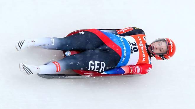 Dajana Eitberger war auf der Bahn in Oberhof nicht zu schlagen