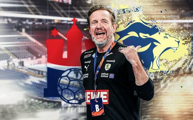 Martin Schwalb hat nach seinem Wechsel von den Rhein-Neckar Löwen mit dem HSV Hamburg viel vor