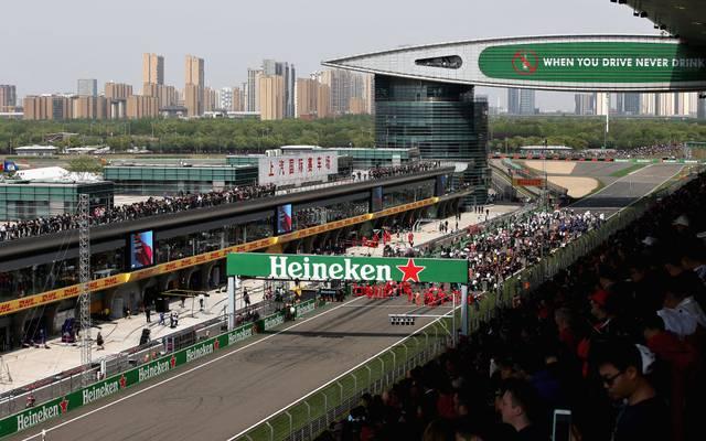 Im April wird es kein Formel-1-Rennen in China geben