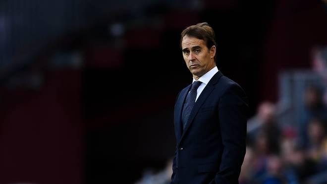 Julem Lopetegui war nur fünf Monate Trainer von Real Madrid