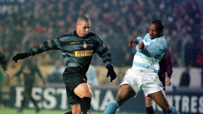 Ronaldo musste mit Inter im UEFA-Cup 1997/98 gegen Racing Straßburg beinahe die Segel streichen