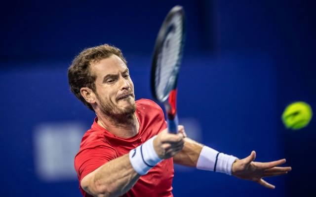 Andy Murray ist auf seiner Comeback-Tour im Achtelfinale des ATP-Turniers in Zhuhai ausgeschieden