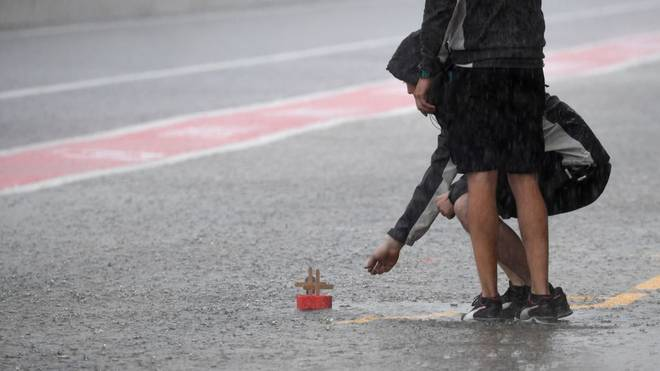 Auch 2017 gab es in Suzuka heftige Regenfälle