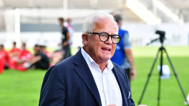 DFB-Präsident Fritz Keller freut sich über die Rückkehr des Fußballs als Gemeinschaftserlebnis