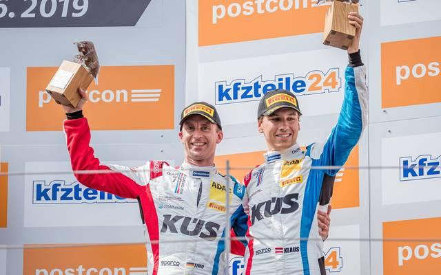 Im Vorjahr noch ein starkes Fahrer-Duo: (v.l.) Timo Bernhard und Klaus Bachler