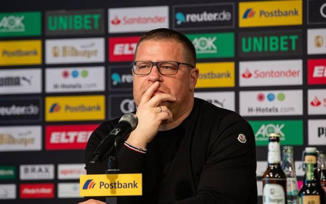 Max Eberl ist Sportdirektor bei Borussia Mönchengladbach