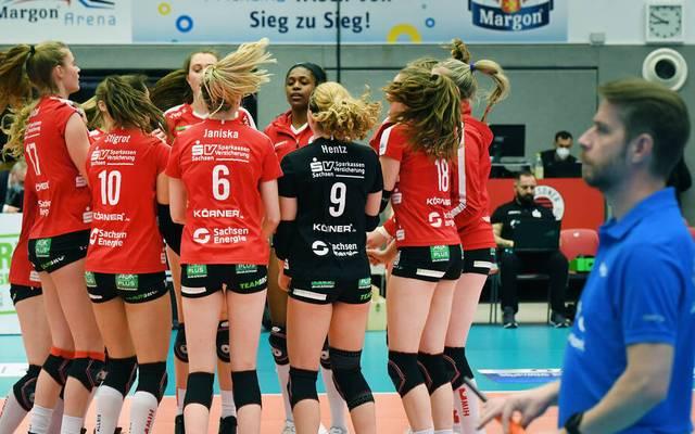 Der Dresdner SC steht im Halbfinale der Playoffs der Bundesliga