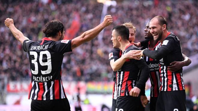 Die Eintracht fährt mit viel Schwung aus der Liga nach Belgien. Die eigenen Fans müssen aber daheim bleiben