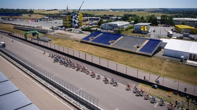 Unter strengen Auflagen konnte das Sachsenringrennen stattfinden