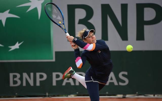 Laura Siegemund steht bei den French Open in der dritten Runde