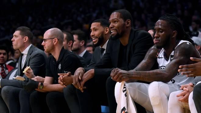 Kevin Durant wird in dieser Saison nicht mehr für die Nets spielen