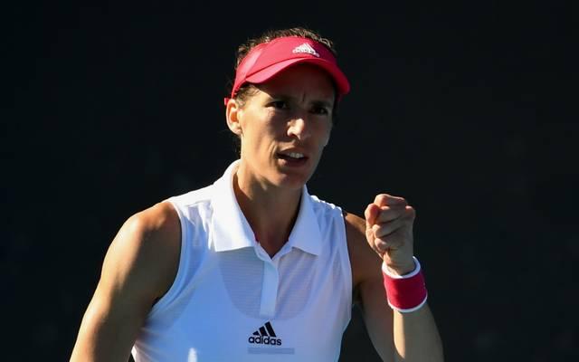 Andrea Petkovic ist bei ihrer Rückkehr auf die WTA-Tour erfolgreich