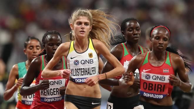 Konstanze Klosterhalfen lief bei der WM zu Bronze über 5000 Meter