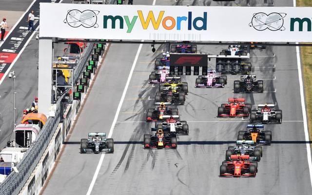 Das erste Rennen der Formel 1 soll am 5. Juli in Spielberg stattfinden