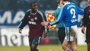 FUSSBALL: DFB POKAL 01/02, FC SCHALKE 04 - FC BAYERN MUENCHEN 2:0