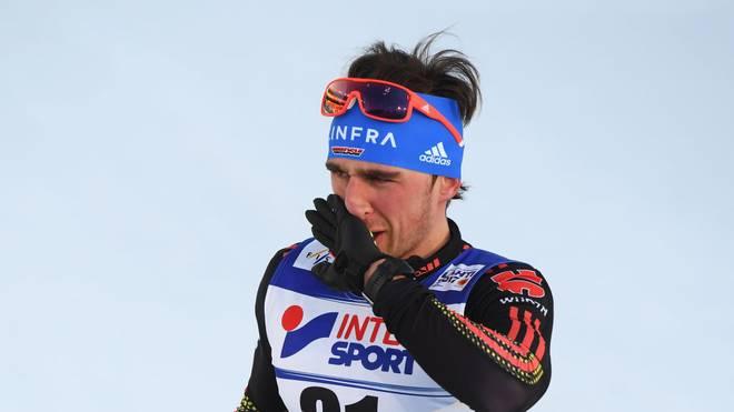 Für Jonas Dobler ist die Tour de Ski vorzeitig beendet