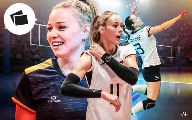 Die deutschen Volleyballerinnen kämfen um die Teilnahme an Olympia 2020