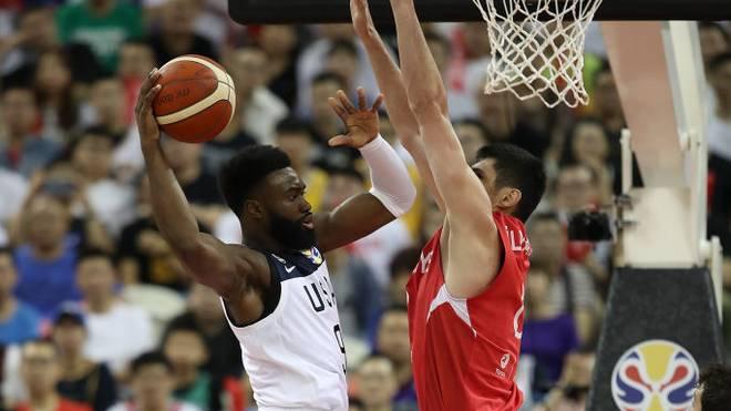 Die USA tat sich gegen die Türkei bei der Basketball-WM schwer