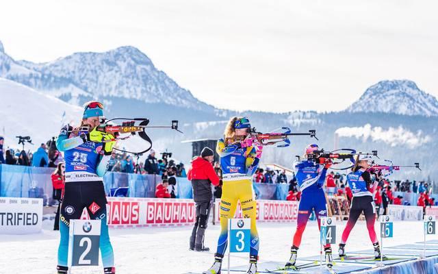 Das Starterfeld beim Biathlon-Auftakt wird durch Corona ausgedünnt