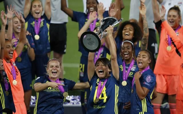 Olympique Lyon gewann 2020 die Frauen-Champions-League
