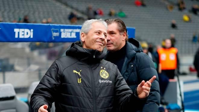 Lucien Favre fährt in Berlin einen Sieg ein - muss aber bis zuletzt zittern