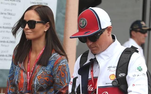 Kimi Räikkönen und seine Frau Minttu sind seit vier Jahren verheiratet