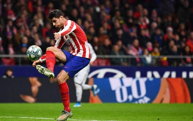 Álvaro Morata verletzte sich gegen Real Madrid, ist aber fit für die Champions League