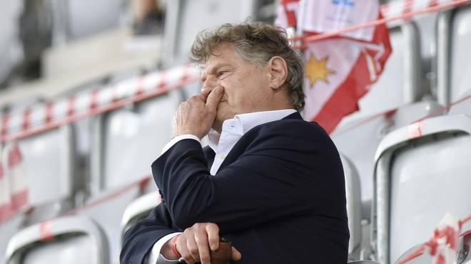 Klub-Boss Ancillo Canepa muss auch in häusliche Quarantäne